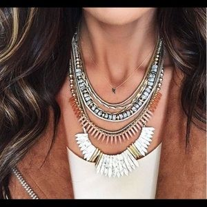 Ezra Stella & Dot Necklace